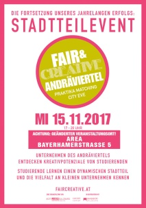 fair & creative flyer andräviertel NEU